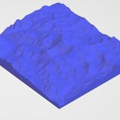 Download 3D printing models Mount Everest_Nepal-China, Borichi