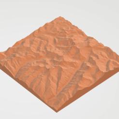 Download 3D printing designs Alpamayo Mountain, Peru, Borichi