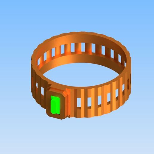 RingPhoto2.jpg Download free STL file Columns ring • 3D printer model, rohilkhare17