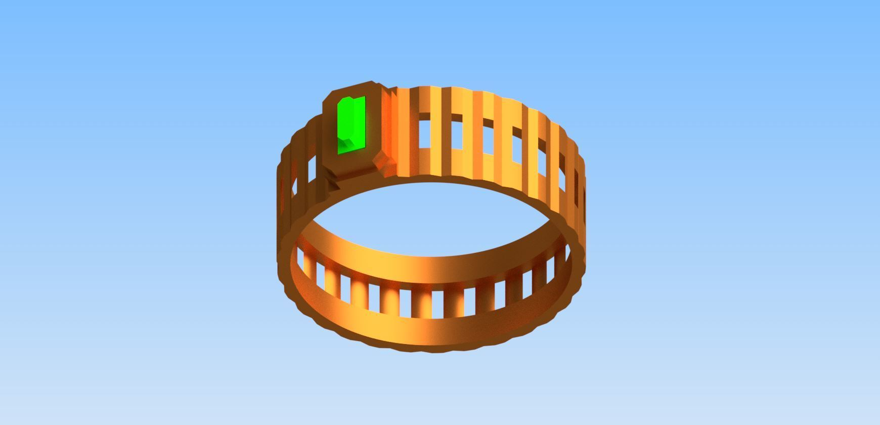 RingPhoto1.jpg Download free STL file Columns ring • 3D printer model, rohilkhare17