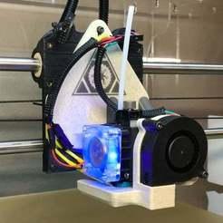 Télécharger fichier STL gratuit Monture Hemera E3D pour LulzBot Taz 6 • Objet à imprimer en 3D, joshcarter