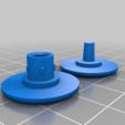 Télécharger fichier STL gratuit La toupie de la courbe • Plan pour imprimante 3D, joshcarter