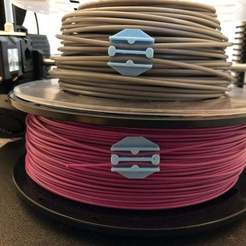 Download free 3D printer designs Ultimate Filament Clip (1.75mm and 2.85/3mm), joshcarter