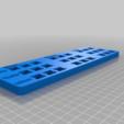Télécharger fichier STL gratuit Tableau comparatif des interrupteurs à clé MX (étiquettes Cherry, Gateron, Kailh) • Modèle imprimable en 3D, joshcarter