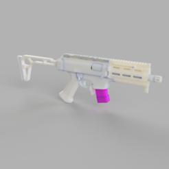 45d3303c-0c66-413d-8857-aa904207c541.PNG Download STL file ASG CZ Scorpion EVO Mag short • 3D printing template, azgiliath