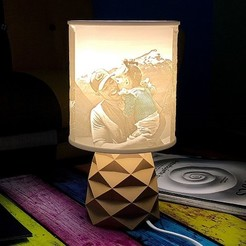 atelier_zasvietena_orez.jpg Download STL file Photo lamp Triang • 3D print design, 3DimLab