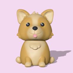 Descargar modelos 3D Perro, usagipan3dstudios