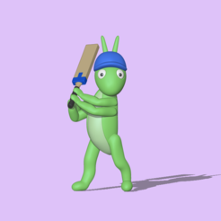 Cricket1.PNG Télécharger fichier STL Cricket • Design pour imprimante 3D, usagipan3dstudios