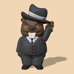 Download 3D printer designs Beaver, usagipan3dstudios
