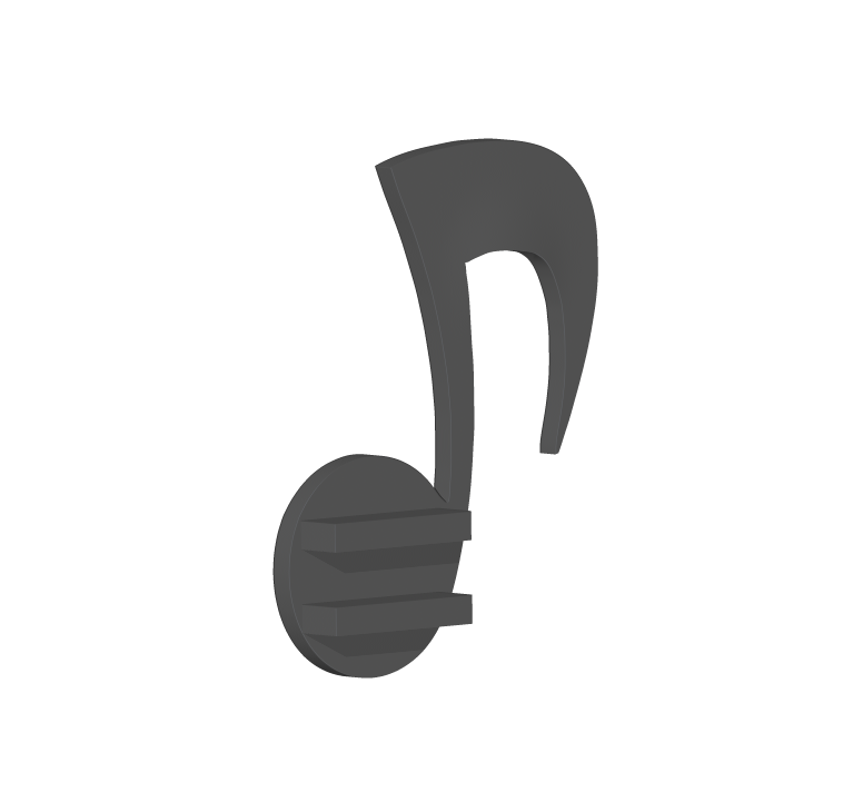 Shelf2.PNG Download STL file A cute shelf for decoration • 3D printing design, usagipan3dstudios