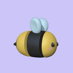 FlexiBee1.PNG Download STL file Flexi Bee • Model to 3D print, usagipan3dstudios