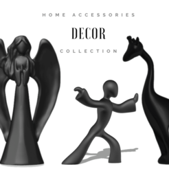 A 01.png Download STL file Home Decor Accessories - Collection • 3D print object, usagipan3dstudios
