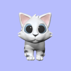 WalkingCat1.PNG Download STL file Walking Cat • Design to 3D print, usagipan3dstudios