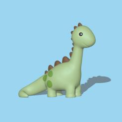 Diplodocus1.PNG Download STL file Dinosaur Diplodocus • 3D print object, usagipan3dstudios