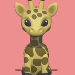 Download 3D print files Giraffe, usagipan3dstudios