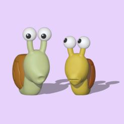 Snail1.PNG Download STL file Snails • 3D printable object, usagipan3dstudios
