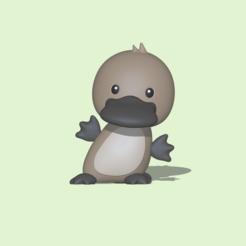 Platypus1.PNG Download STL file Platypus • 3D printer design, usagipan3dstudios