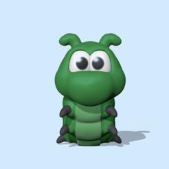 Caterpillar1.PNG Télécharger fichier STL Chenille • Design pour impression 3D, usagipan3dstudios