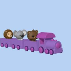 Train2.PNG Download STL file Train (animals not included) • 3D print design, usagipan3dstudios