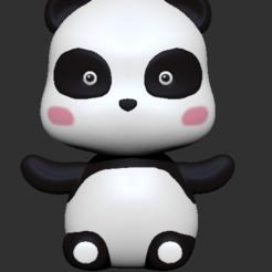 Download 3D printing models Panda, usagipan3dstudios