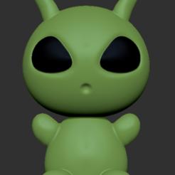 Descargar modelo 3D gratis Alienígena, usagipan3dstudios