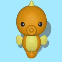Seahorse1.PNG Download STL file Seahorse • 3D printer design, usagipan3dstudios