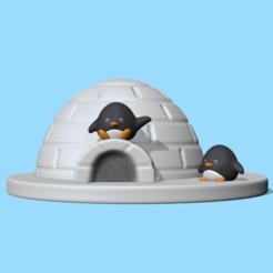 Igloo.PNG Télécharger fichier STL Igloo • Plan imprimable en 3D, usagipan3dstudios