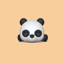 Lying Panda1.PNG Download STL file Lying Panda • 3D printer template, usagipan3dstudios