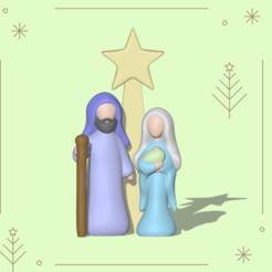 Insta novo (13).png Télécharger fichier STL Scène de Navidad Xmas • Objet pour imprimante 3D, usagipan3dstudios