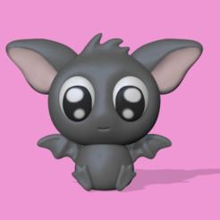Download 3D printing designs Bat, usagipan3dstudios