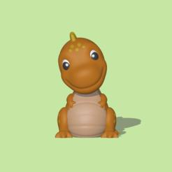 TRex1.PNG Download STL file Tyrannosaurus Rex • 3D printing object, usagipan3dstudios