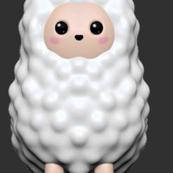 Download 3D printer files Alpaca, usagipan3dstudios