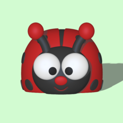 Download 3D printing files Ladybug, usagipan3dstudios