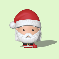 Santa Claus1.PNG Download STL file Santa Claus • Object to 3D print, usagipan3dstudios