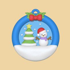 Xmas Ball1.PNG Télécharger fichier STL Un bal d'Elno pour décorer votre arbre • Plan pour impression 3D, usagipan3dstudios