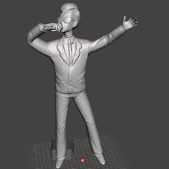 COMENTARISTA 1.jpg Télécharger fichier STL gratuit Annonceur Dragon Ball • Objet à imprimer en 3D, jorgeromoleroux