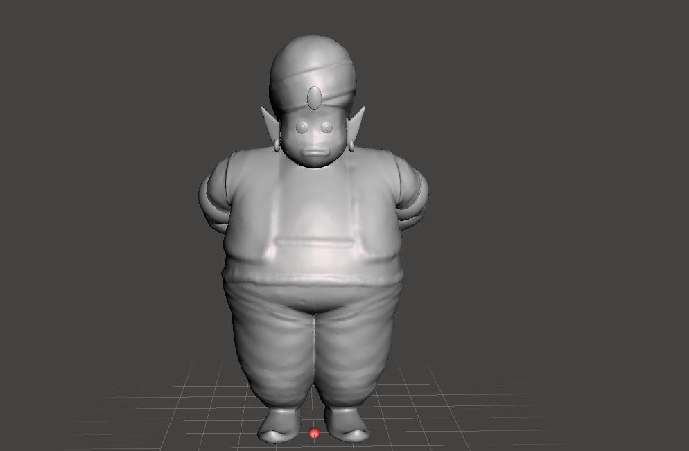 mr popo.jpg Télécharger fichier STL gratuit BALLE DE DRAGON MR POPO • Modèle pour imprimante 3D, jorgeromoleroux