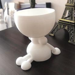 Sentada.png Télécharger fichier STL Femme Planter, femme • Design imprimable en 3D, Nukex