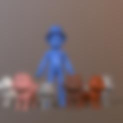 PP_CC_Chase.stl Télécharger fichier STL L'équipage de la patrouille de catastrophe Paw • Modèle pour imprimante 3D, Nukex