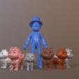 PPatrol.png Télécharger fichier STL L'équipage de la patrouille de catastrophe Paw • Modèle pour imprimante 3D, Nukex