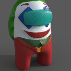 Joker.PNG Télécharger fichier STL Parmi nous Joker • Plan pour imprimante 3D, Nukex