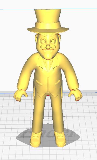 Cura.PNG Télécharger fichier STL L'équipage de la patrouille de catastrophe Paw • Modèle pour imprimante 3D, Nukex