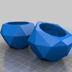 Descargar archivos 3D gratis Juego de Macetas, Color