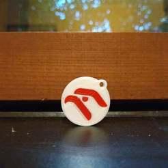 Download free STL file Orlen (polish petrol station) keychain • 3D printing template, Sciecha9