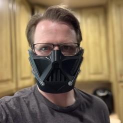 Download STL file Darth Vader Face Mask • 3D printer object, TheRealMapleSyrup