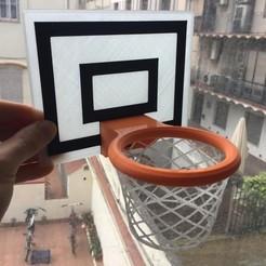 Download free STL file Basketball hoop • 3D printable model, Roby311