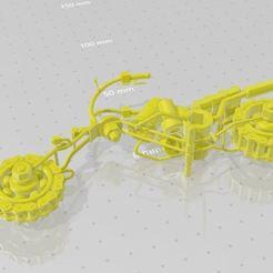 Download free 3D model MOTORCYCLE CHOPPER, santiagoruge362