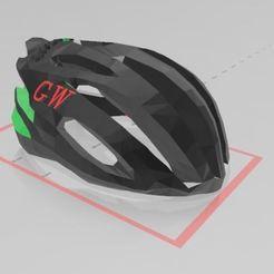 Télécharger fichier STL gratuit CASQUE DE VÉLO DE ROUTE • Modèle pour impression 3D, santiagoruge362