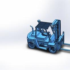 Télécharger fichier 3MF gratuit chariot élévateur CAT • Objet pour imprimante 3D, santiagoruge362