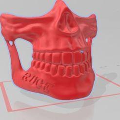 Télécharger fichier imprimante 3D gratuit MASQUE CALACA, santiagoruge362